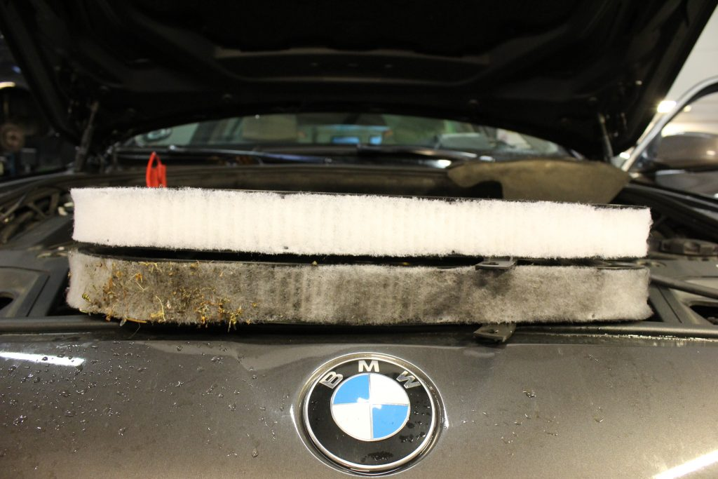 Serviceeftersyn BMW