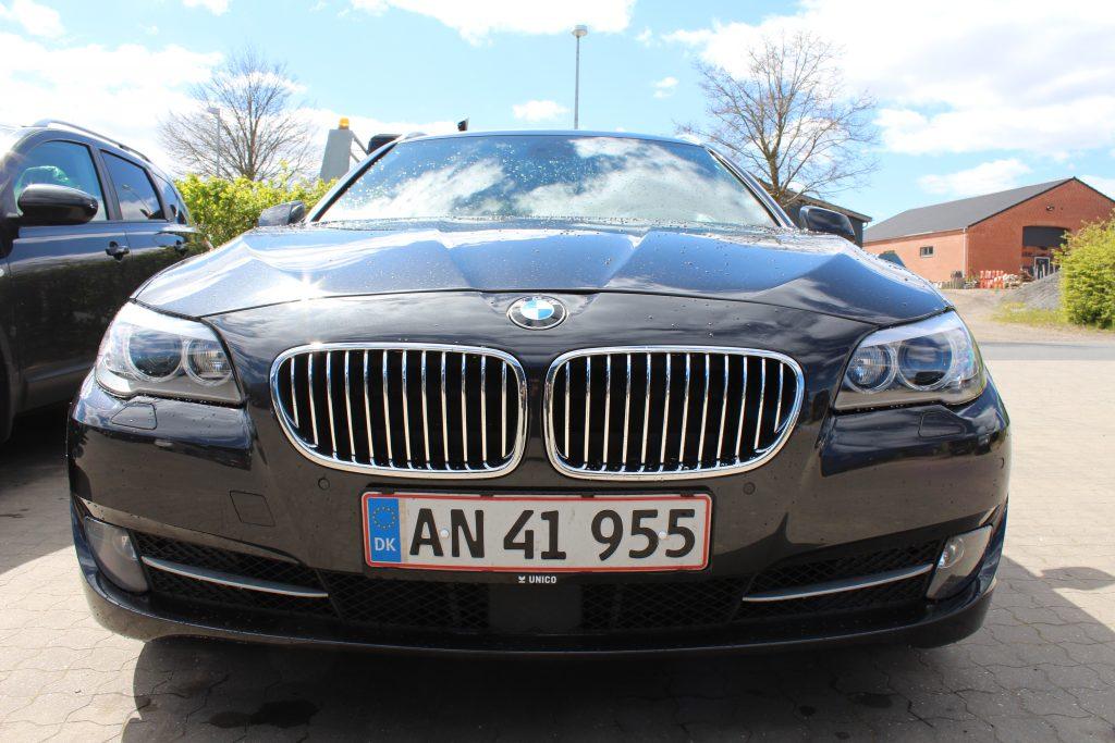 Skade på BMW