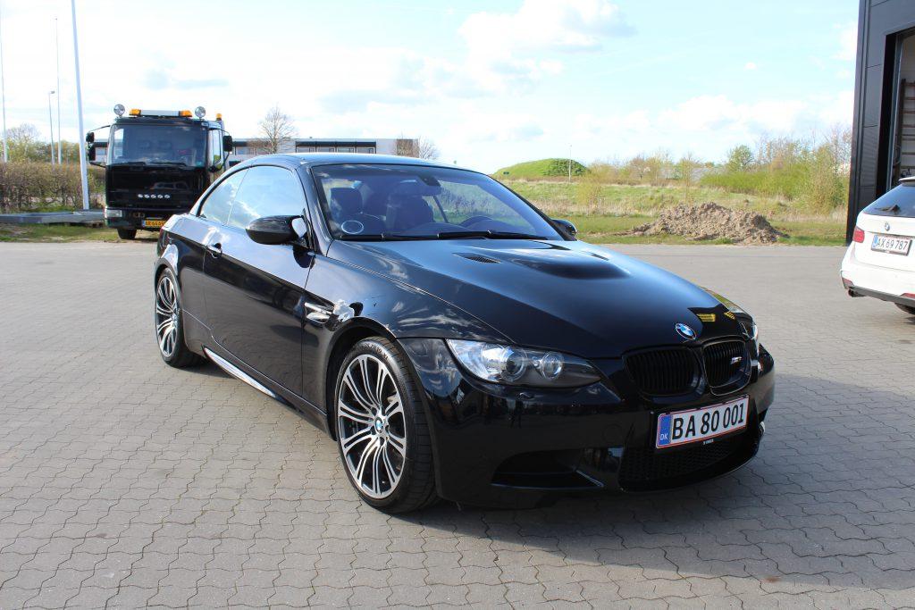 Klargøring og gearkasseskylning på BMW M3