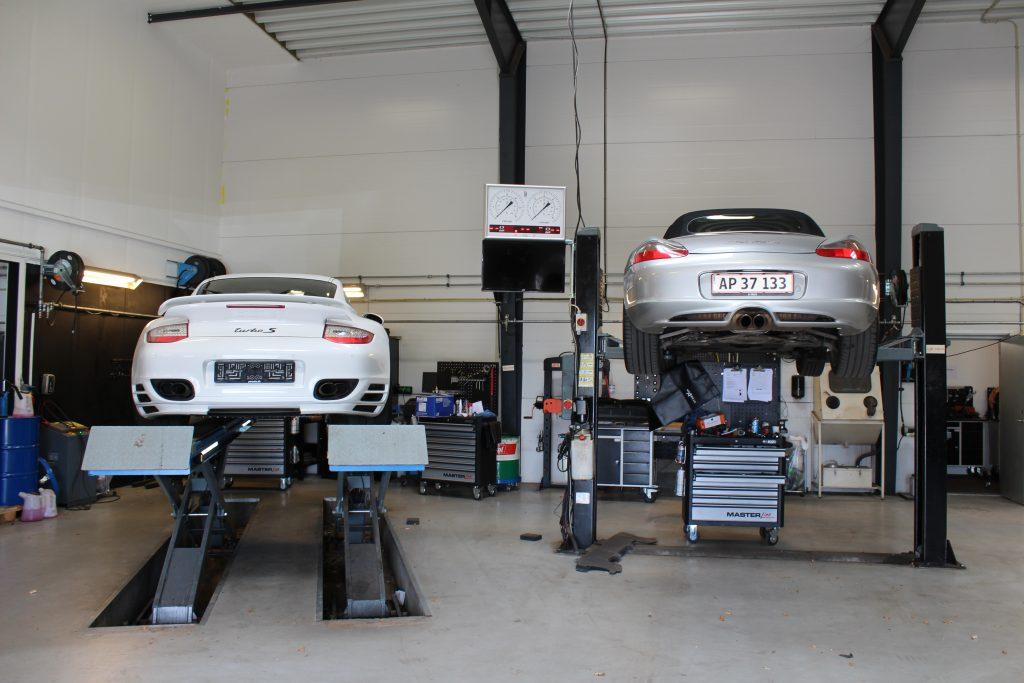 Porsche væksted silkeborg, mekaniker silkeborg, værksted silkeborg