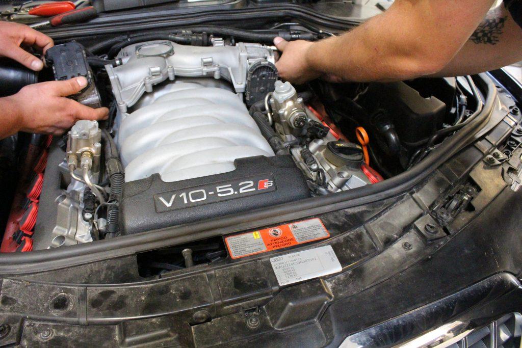 Reparation af Audi S8