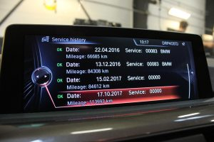 BMW servicehistorik