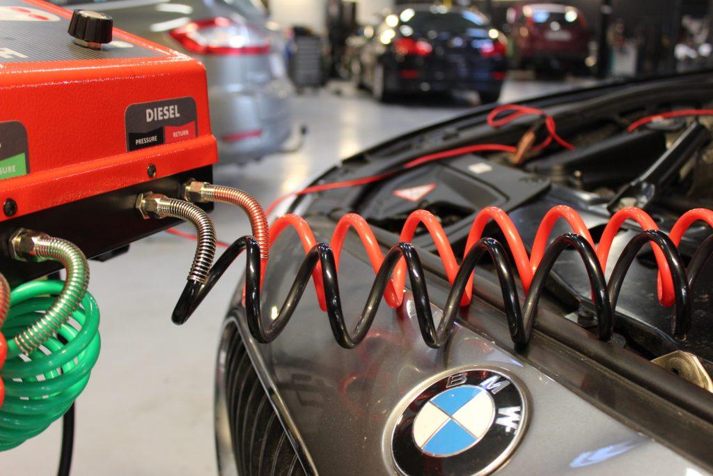 BMW med øget brændstofforbrug