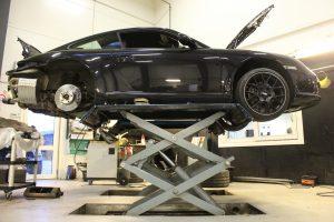 Udstødningssystem, Porsche
