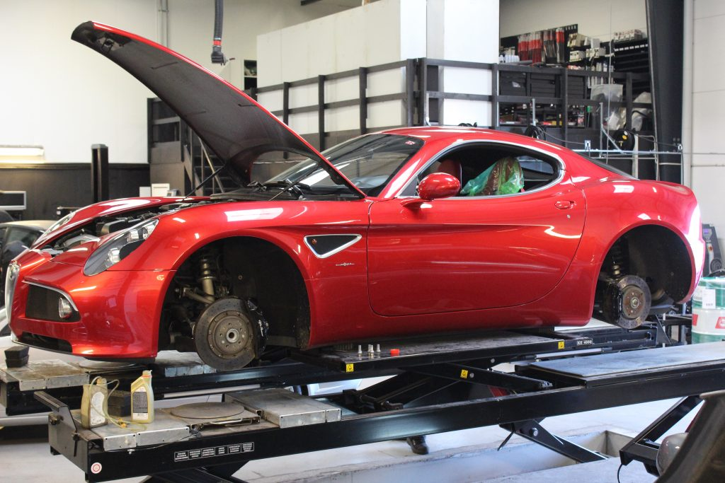 Alfa Romeo, Silkeborg, Bremsevæske