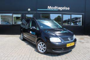 VW Touran lånebil