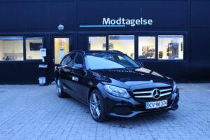 Mercedes C200 - Pris pr. dag 375 kr.